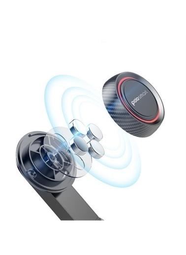 Polo Smart Psm57 Araç İçi Mıknatıslı Telefon Tutucu Siyah Siyah